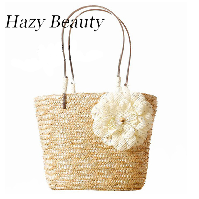 Hazy beauty Appliques flower design women high summer holiday ...