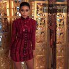 Cheap Babatique 2017 sexy women dresses vestidos wine red bandage dresses bodycon luxcury short bodycon dress cocktail party dresses