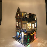 Led Light Up Kit For Lego Building City Street Genuine MOC Series Compatible 15034 Toy Blocks