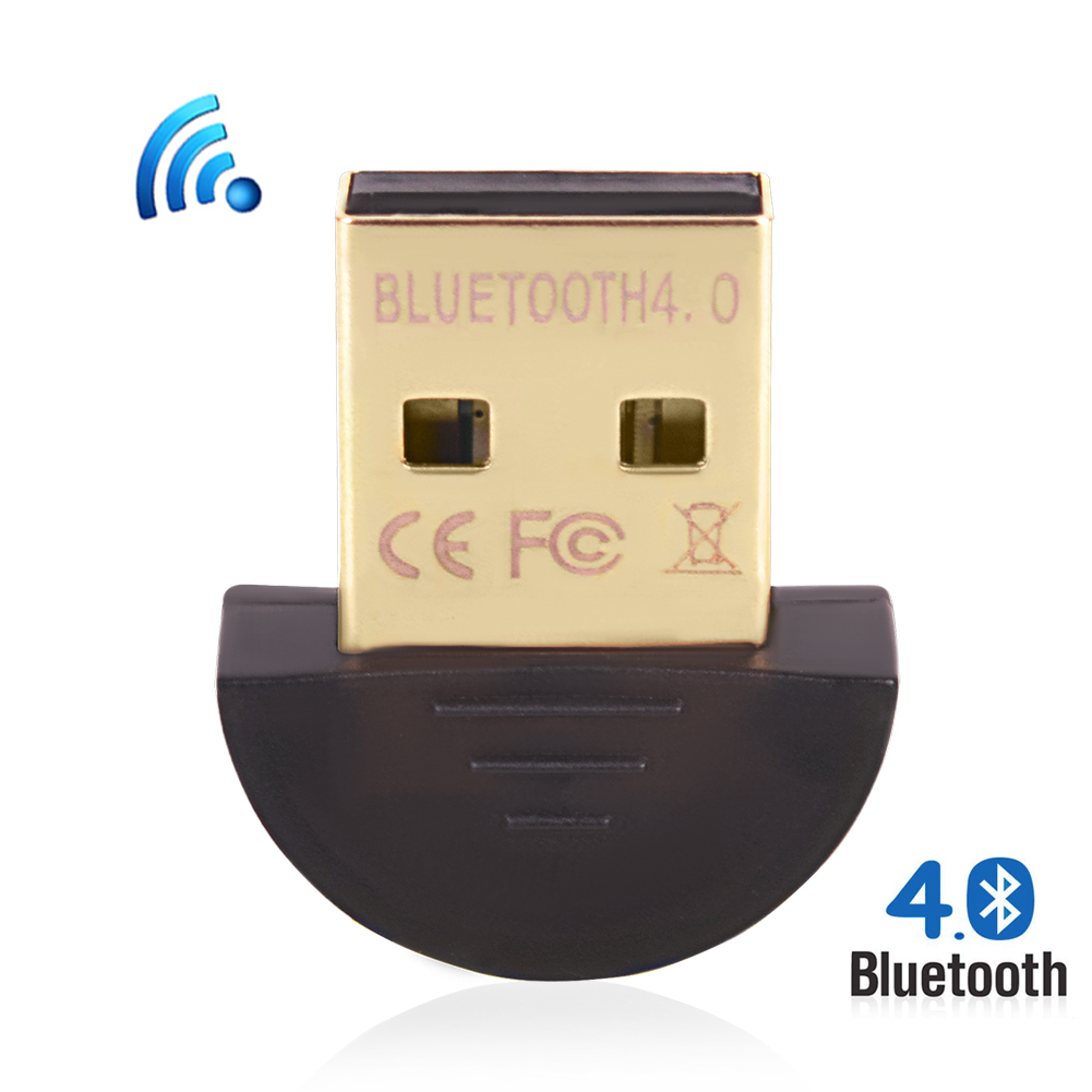 Hot Mini USB Bluetooth Adapter V 4,0 Dual Modus Adapter Bluetooth Dongle...