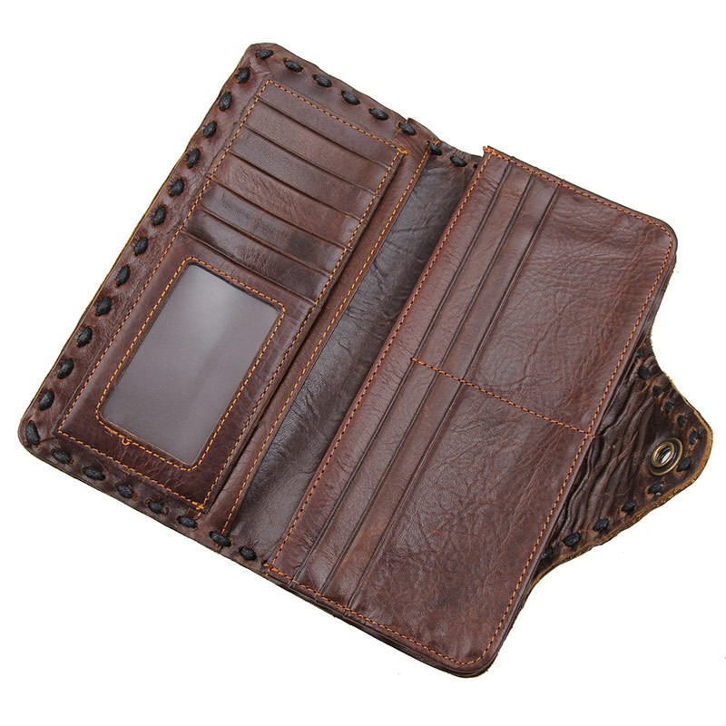 Men genuine leather wallet 7