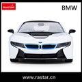 Rastar licensed coche R/C 1:14 BMW I8 2016 nuevos juguetes de simulación del coche DEL RC de Alta Velocidad Del Coche de lujo con luces 71010