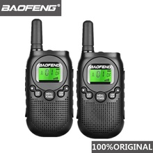 2Ps 2018ใหม่ล่าสุดใบอนุญาตฟรีPMR 446วิทยุBF T6 Walkie Talkie BAOFENG T6 Miniเด็กWoki Tokiเด็กHamสถานีวิทยุ