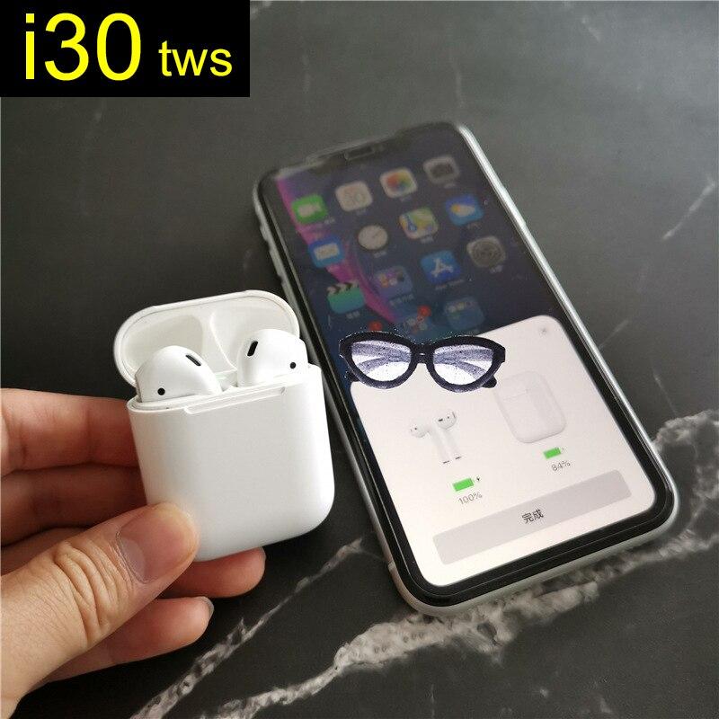 Écouteurs sans fil de type c i30 TWS Bluetooth écouteurs Air XY 1:1 pour tous les téléphones intelligents mise à jour de i7s i9s i10 i12 tws auriculares