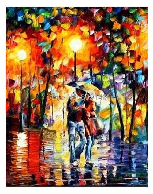 Estirada pareja amante tomar un paseo retrato pintura al for Ministerio del interior en ingles
