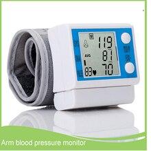 Casa Hogar Muñeca Monitor de Presión Arterial de Brazo Automático inteligente de medición de la presión arterial