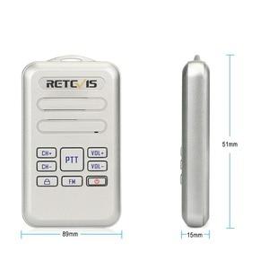 Image 5 - Retevis rt20 mini rádio walkie talkie 2 pçs 2 w transceptor uhf vox rádio fm tipo c usb carga 2 vias rádio caminhada falar comunicador