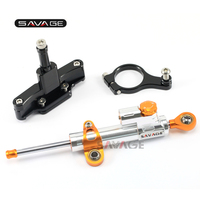 For HONDA CBR 650F 2014 15 16 2017 Motorcycle CNC Adjustable Linear Steering Damper Stabilizer With