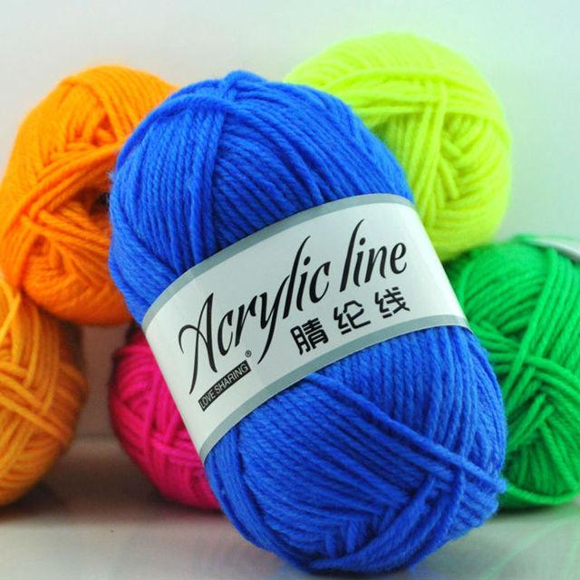 500 gr/beutel Acryl Wolle handstrick Schuhe Wolle Haken Hausschuhe ...