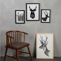 12 14 16 Inch DIY Wooden Photo Frame Wall Picture Album Wall Frame Picture Photo Frame
