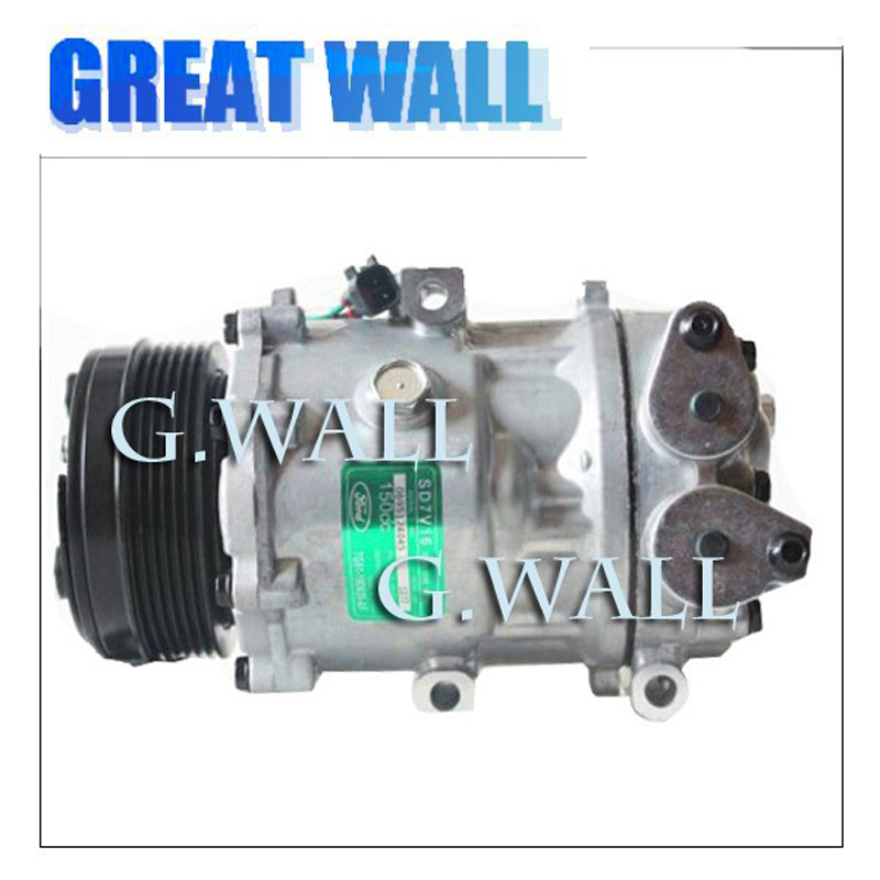 SD7V16 Air Conditioning Compressor For Car FORD MONDEO 2.3L GALAXY S-MAX 2.0 2.3 For Car olvo V70 S80 2.0 2006 2007-