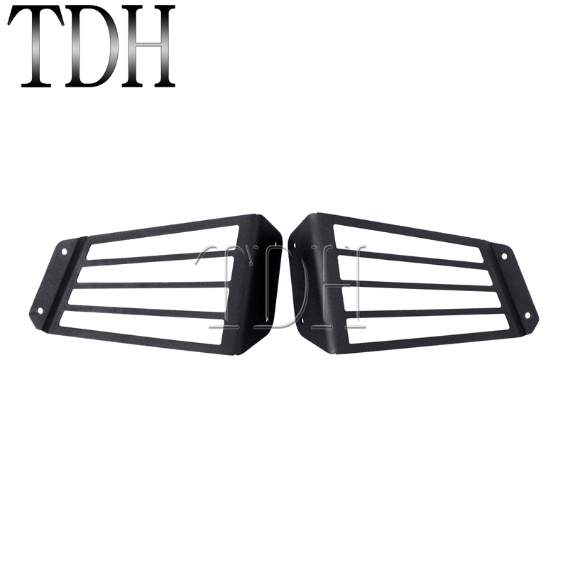 Pair Tail Lights Taillights Guard Cover Protector For Kawasaki Teryx4 750 EPS LE