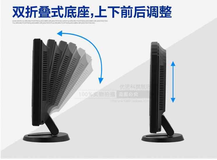 Monitor LCD de 12,1 pulgadas, seguridad industrial para monitor LCD de terminal POS, HDMI, VGA, BNC, dispositivo de pantalla