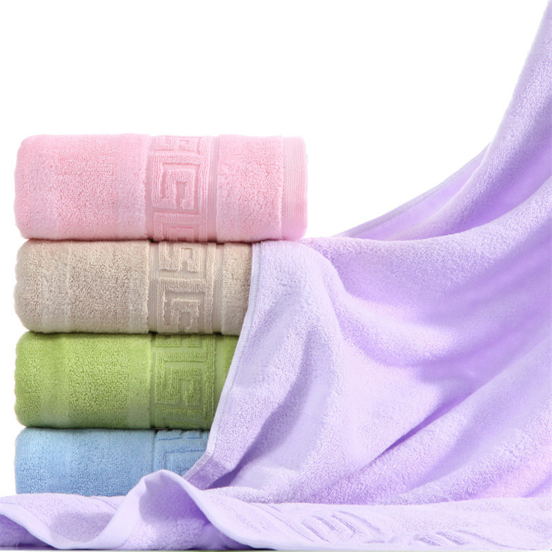 70x140 cm 100% algodón absorbente de Color sólido suave cómodo hombres mujeres baño Toalla de playa Toalla de viaje