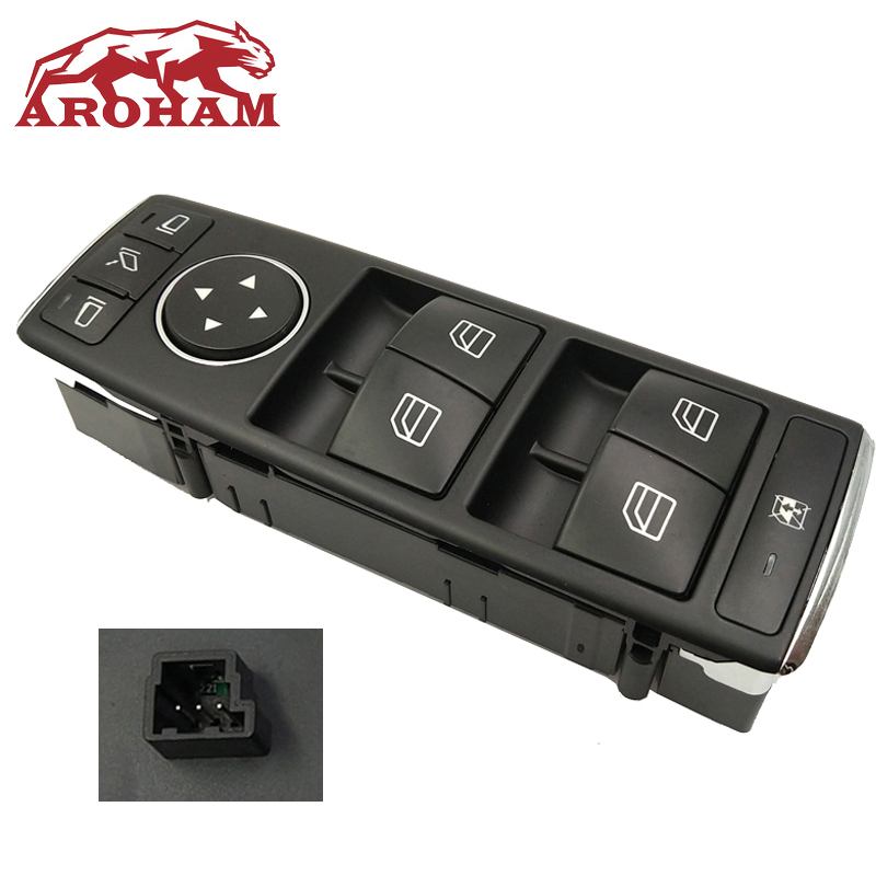 Power Window Switch For Mercedes benz w204 w212 c200CGI c63AMG c280 c300 e260 e350 e200 e400