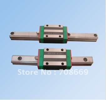HGR15 L250mm rail with 1pcs HGH15 CA Narrow Type carriage HIWIN Linear Guide цены