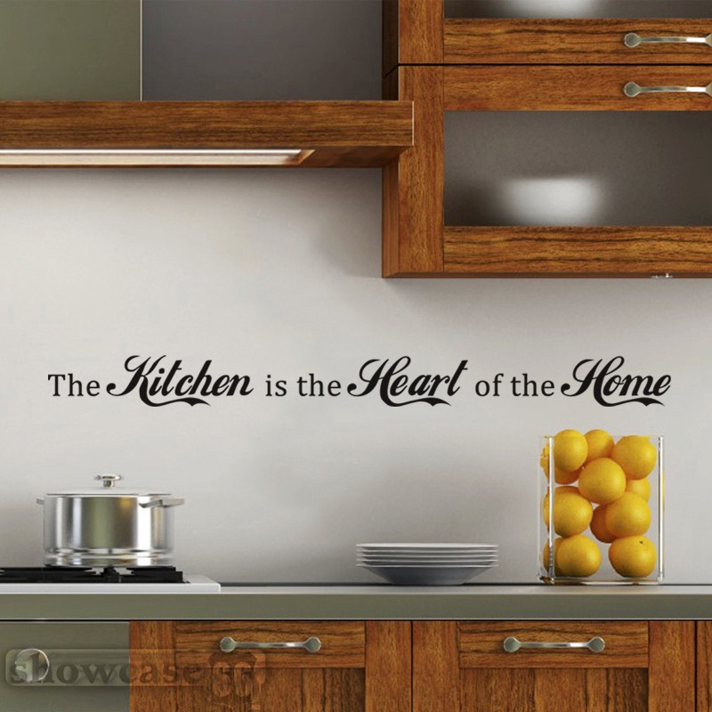 Kitchen Is The Heart Of The Home Vinyl Wall Decal Wall Art