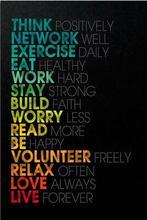 Inspirational Motivational Quote Art Wall Decor Silk Print Poster