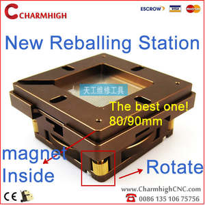 Auto-Adjust-Chip IC BGA Four-Corners Magnet Reballing-Station Patent-Product Hottest