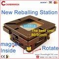 Más calientes 80mm/90mm BGA Reballing Estación de producto de la Patente de ajuste Automático de Imán cuatro esquinas