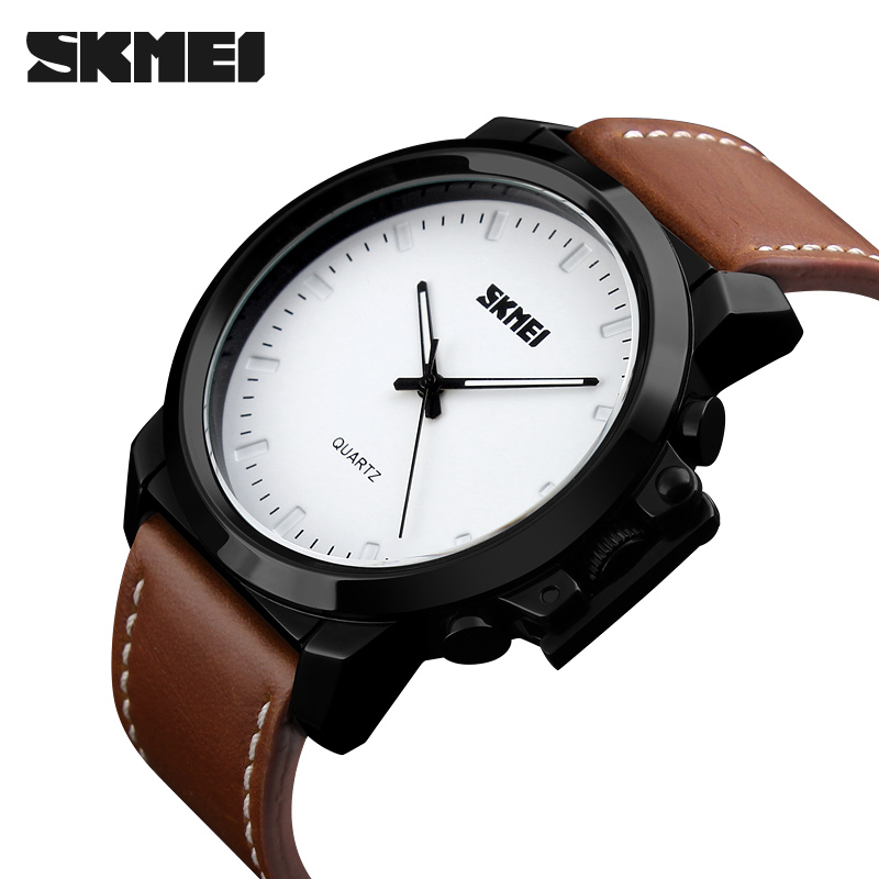 <font><b>SKMEI</b></font> Mens Silicone Quartz Watches Top Brand Luxury Business Minimalist Wristwatches Fashion Casual Gentleman Watch Reloj Hombre image
