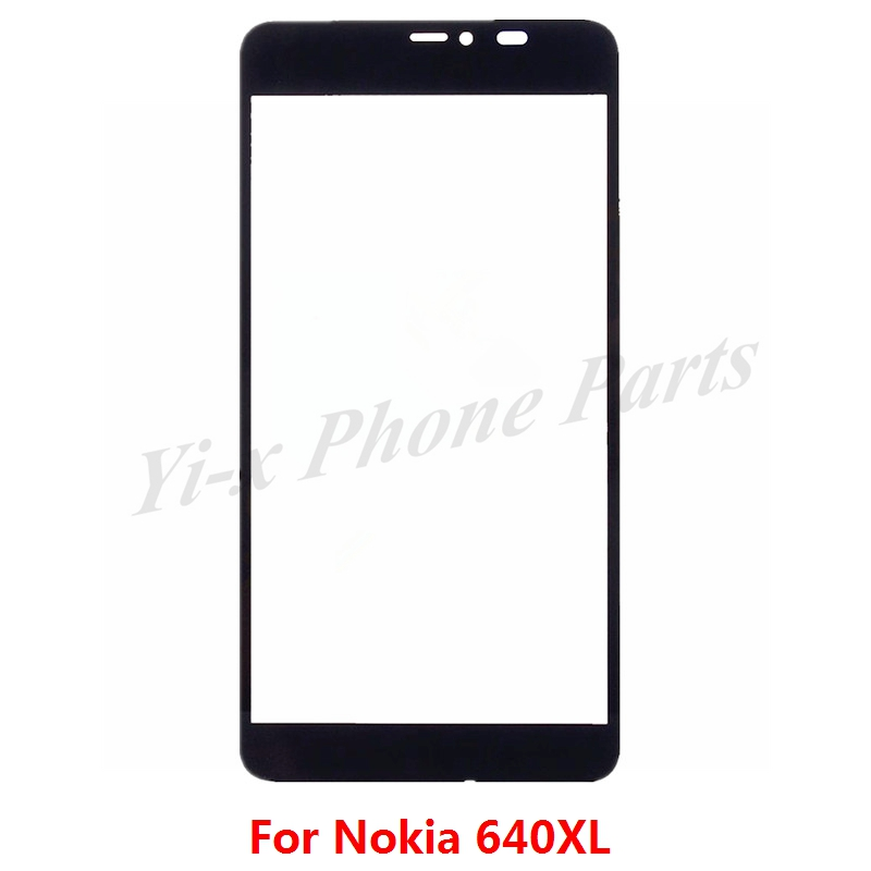 1pcs For Nokia Lumia 640xl Touch Screen 5.7'' Replacement N640xl Lcd Front Touch Screen Outer Glass Lens For Nokia 640 Xl