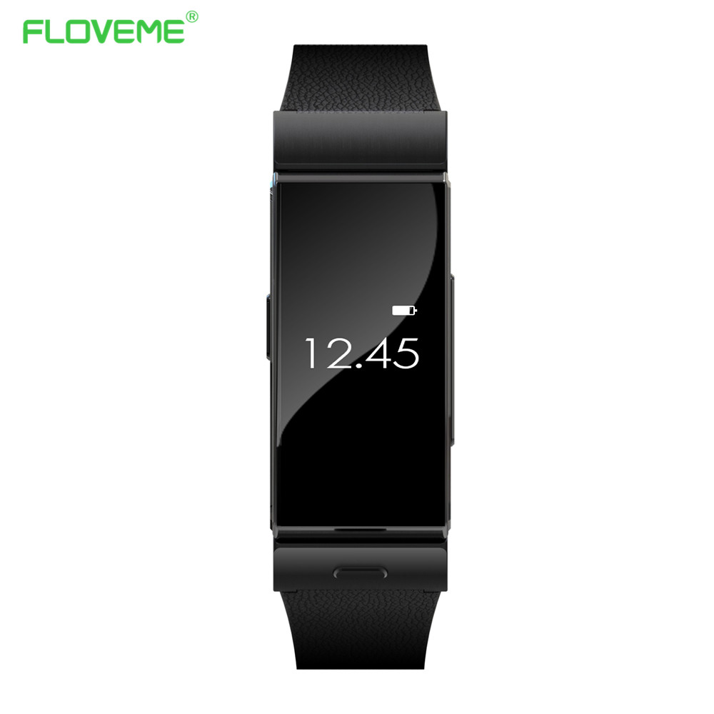 FLOVEME Luxury Bluetooth Smart Watch Wristwatch For Apple IOS Phone Samsung Xiaomi Android Phone Watches Pedometer