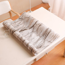 European style Imitation marble table mat soft plastic PVC tablecloth waterproof oilproof cover party decoration pad