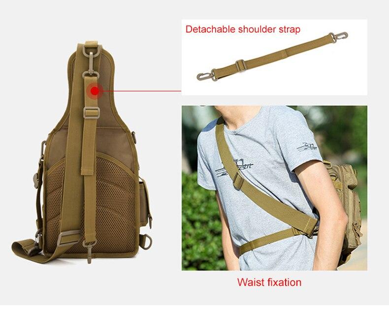Cinto tático saco de peito sling sacos