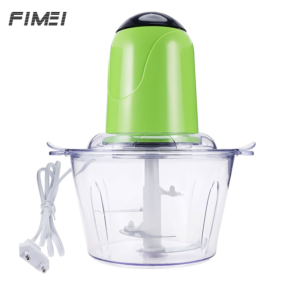 Fimei Multifunctional Electric Food Processor Meat Grinder Stainless Steel Blade Home Cooking Machine Mincer Sausage Machine lucog multifunctional manual meat grinder mincer machine set food processor shred slice grinding paste handguards kitchen tools