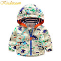 Kindstraum Boys Clothings Kids Jacket and Coat Spring Autumn Hooded Outwear Dinosaur Sports Jacket Casual for Children, MC432