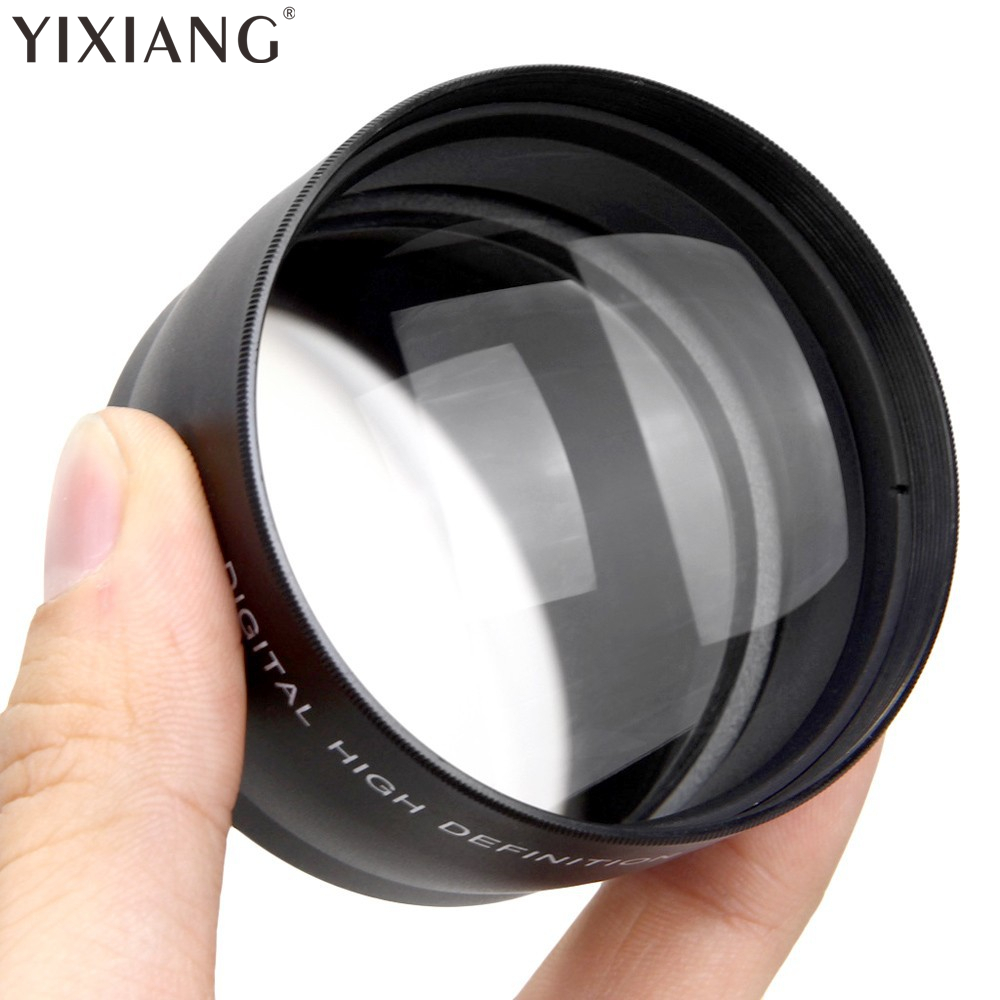 New Arrival 58mm 2x HD Telephoto Zoom Lens for Canon Nikon Sony Pentax 58MM DSLR Camera image