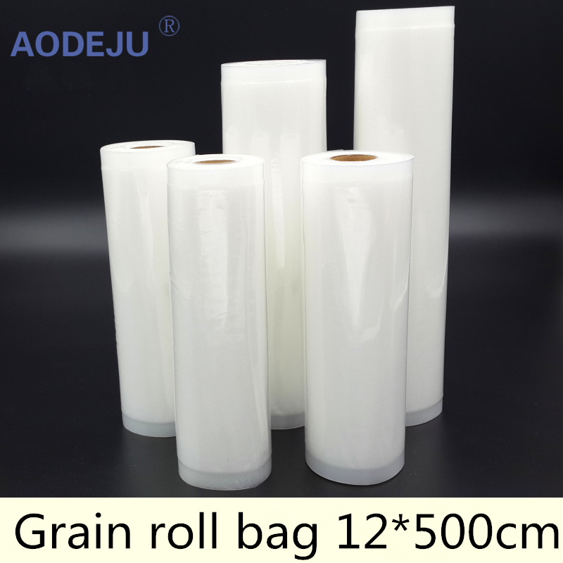 12*500cm Roll Vacuum Bag Fresh – keeping Bag Food Preservation Bag Storage Bag