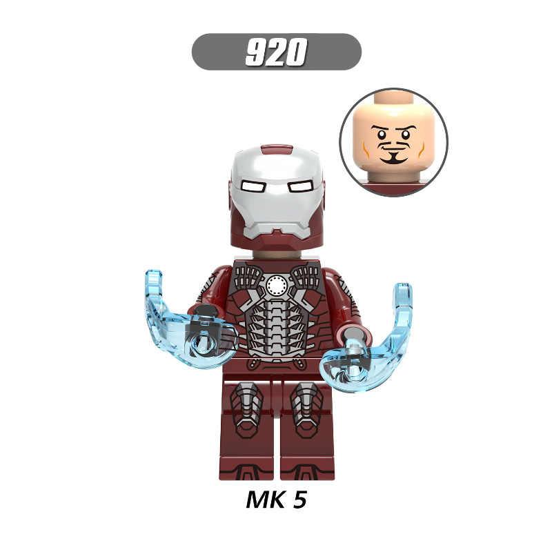 Venta única bloques de construcción superhéroes Iron Man Dance Girl Series MK 2 figuras colección de modelos para niños juguetes regalo