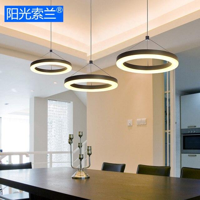 Online Shop Moderno led illuminazione 36 w bianco e nero tre ...
