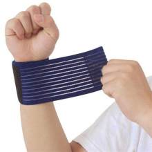 NEW Outdoor Sport Elastic Bandage Hand Sport Wristband Gym Support Wrist Brace Wrap Fitness Tennis Polsini Sweatband Munhequeira(China)