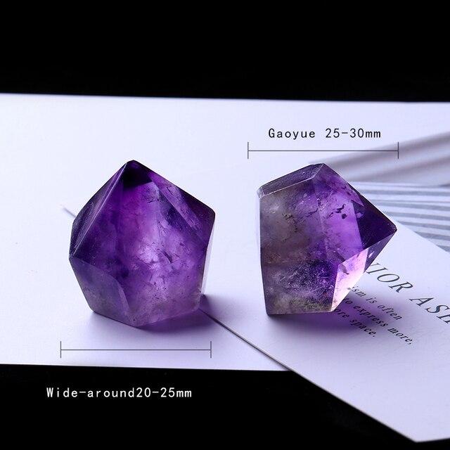 1PC Natural Amethyst Wand Quartz Crystal Repair Crystal Stone accessories Home Decor 5