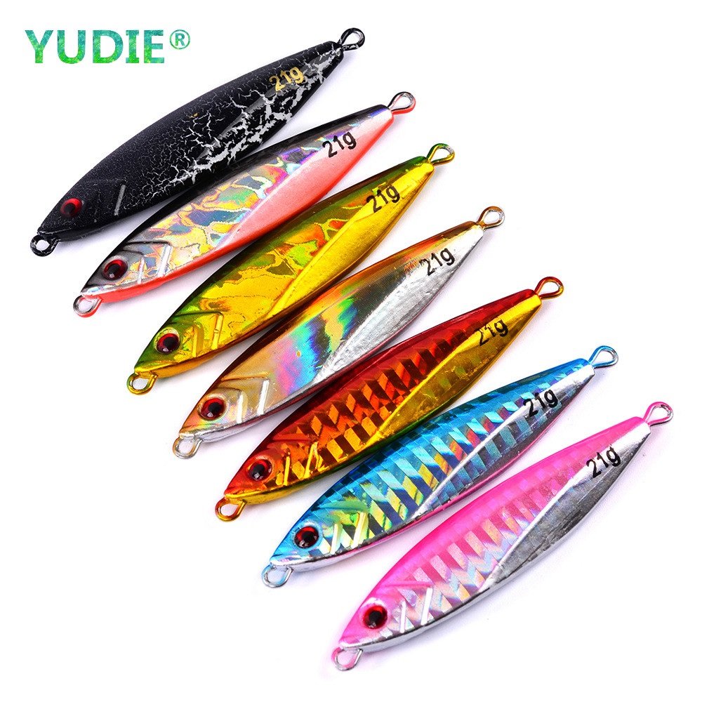 14g 21g 30g Made in Japan jig Shone Hard Bait Fishing Metal jigger Lure Accessories Colorful Crankbait Jigging Minnow Sinking 7c