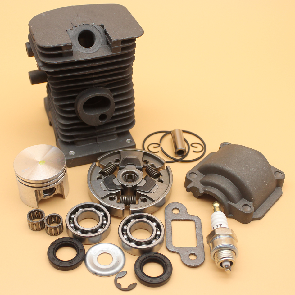 38MM Cylinder Piston Pan Bearing Kit For STIHL MS180 MS170 MS 170 180 017 018 Chainsaw Engine Spare Parts 10MM Pin 1130 020 1208
