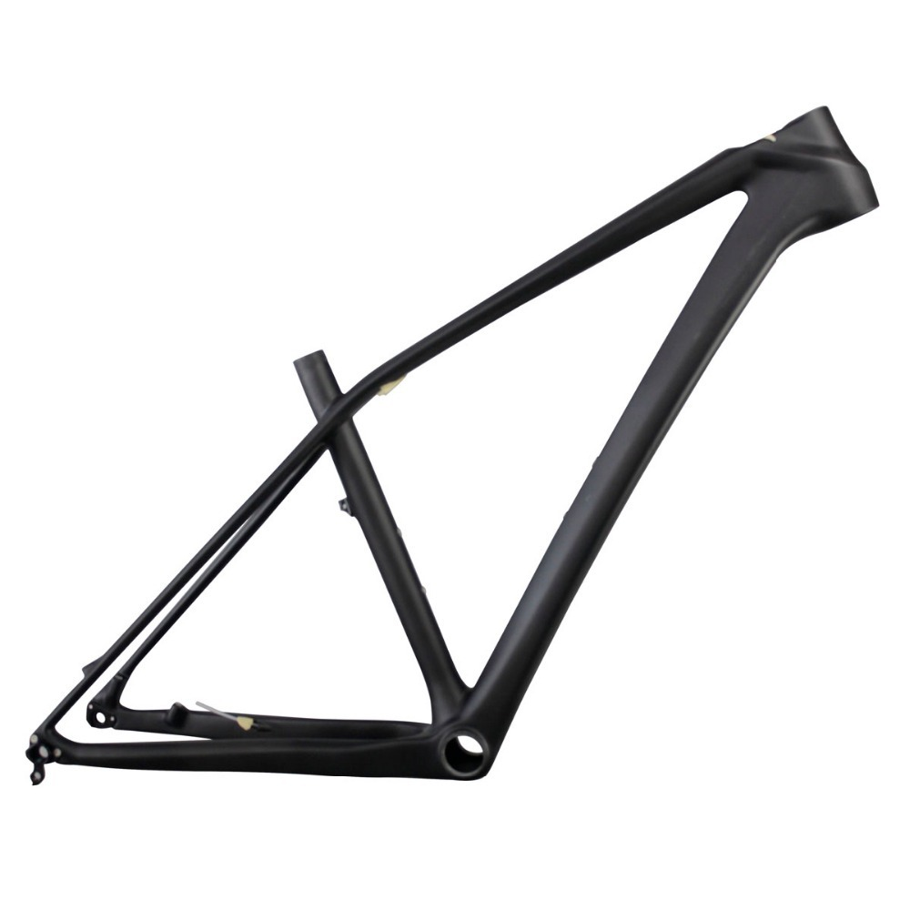 Newest Carbon 650b MTB Bicycle Frame AC650B,Small Size 15inch BB92 UD Matt MTB Frame Carbon Weights 1087g