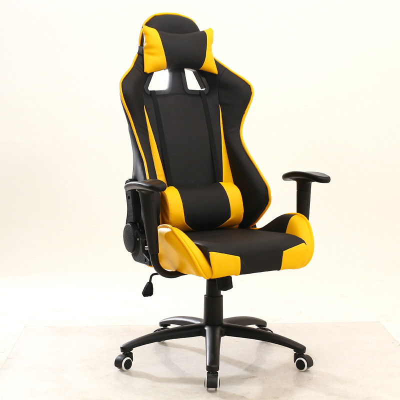 Ergonomic Swivel Gaming Comtuper Chair Reclining Chair Lifting Armrest Lying Headrest Lumbar Pillow bureaustoel ergonomisch
