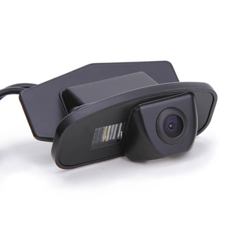 CCD Car Rear Camera for Honda CRV 2009 Odyssey 2009 Fit 2009 Crosstour Reverse Reversing Backup Review Parking Kit