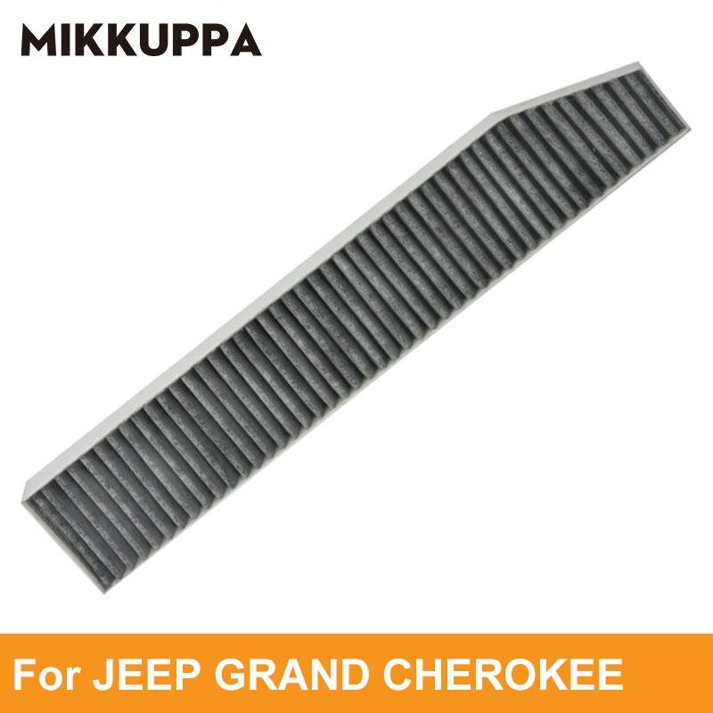 Mikkuppa Abitacolo Filtro Aria Per Jeep Grand Cherokee 1999-2010 Auto Accessori Auto OEM: 05013595AB
