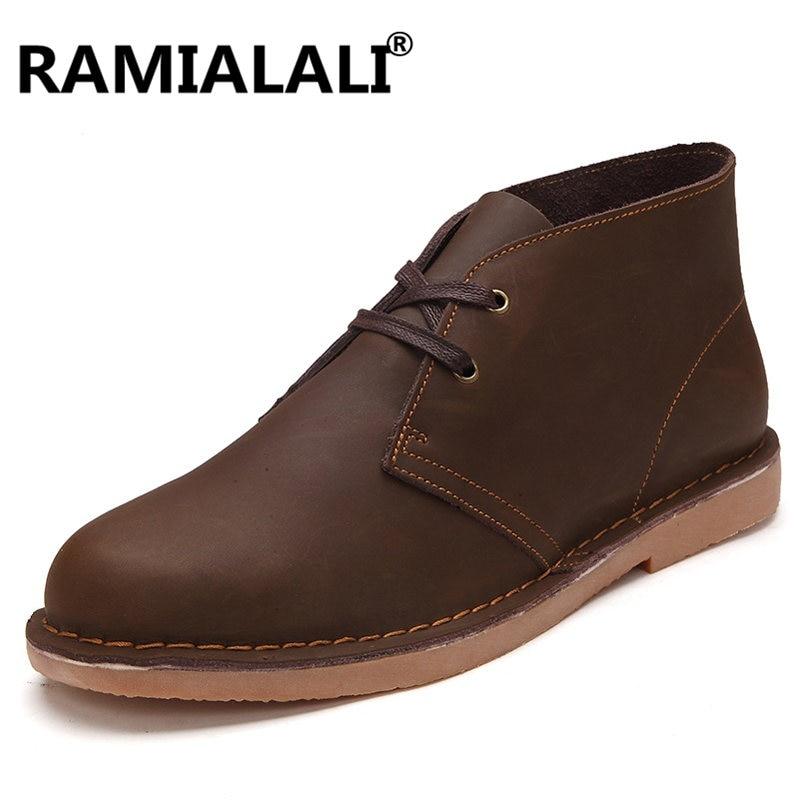 En Moto Chaussures Ramialali No Qualité brown Lacent black Courtes Hommes Peluche Fur Hiver Homme Fourrure Black With Fur Cuir Fur Bottes Véritable n0OwkP