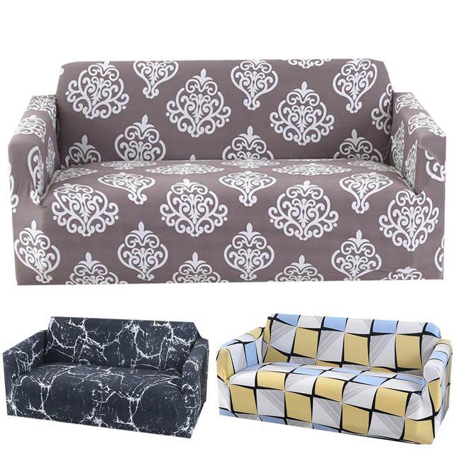 Svetanya Strech Ghế Sofa L Mặt Cắt Slipcovers In Hình