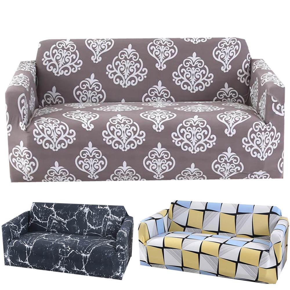 Svetanya strech Sofa Cover L sectional Slipcovers printed-in Sofa Cover from Home & Garden