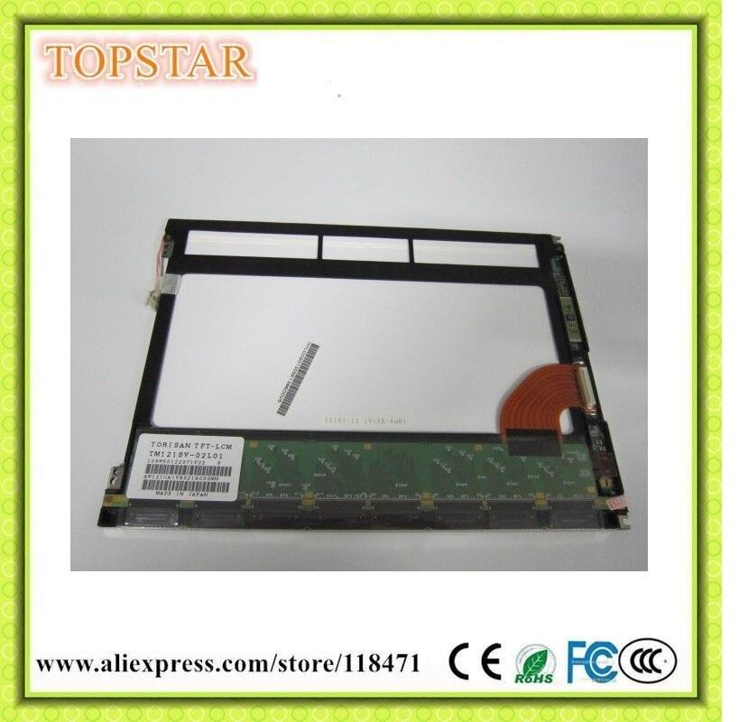 12.1 Pollice TFT LCD Panel TM121SV-02L01 800 RGB * 600 SVGA Parallel RGB Display LCD CCFL 1ch Schermo LCD,-bit