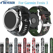 Smart printing classic Silicone Strap watchband for Garmin Fenix 5X Plus wriststrap For 3 /3HR watch bands