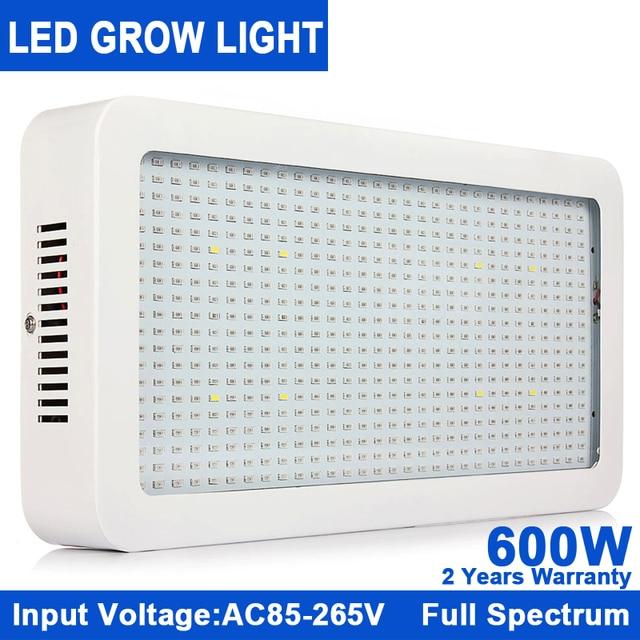 1Pcs KINDOMLED 600W 85 265V High Power LED Plant Grow Light Lamp For ...