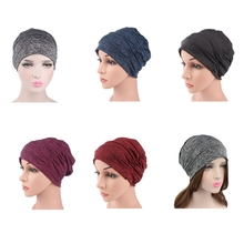 Baggy Soft Cotton Slouchy Stretch Beanie Hat Chemo Hats for Women Indian Cap